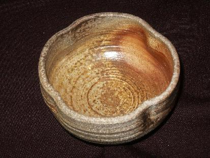 4th anagama firing, pottery, yakishime