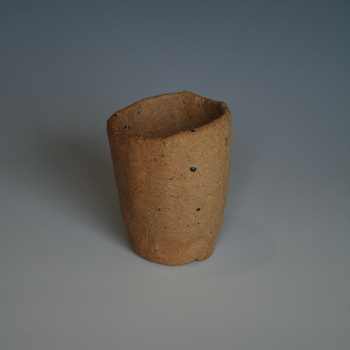 dug-up clay and Helmar 1:2