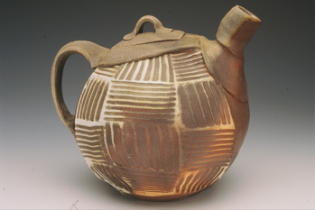 Wood Fired Tea Pot by Davie Reneau